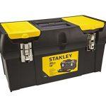 Stanley Werkzeugbox Millenium, 19″, mit herausnehmbarer Ablage, 2 Organizern, Metallschließen, Kunststffgroff, 1-92-066