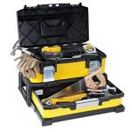 Stanley 20″ Werkzeugbox Metall-Kunststoff mit integrierter Schublade – 1-95-829 – ohne Werkzeug