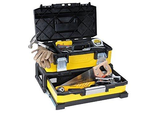 """stanley 20 werkzeugbox metall kunststoff mit integrierter schublade 1 95 829 ohne werkzeug - Stanley 20"""" Werkzeugbox Metall-Kunststoff mit integrierter Schublade - 1-95-829 - ohne Werkzeug"""