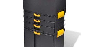 vidaXL Werkzeugkoffer Werkzeugbox Werkzeugkiste Werkzeugtrolley Werkzeugkasten 310x165 - vidaXL Werkzeugkoffer Werkzeugbox Werkzeugkiste Werkzeugtrolley Werkzeugkasten